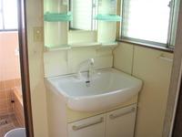 洗面室:洗面所
