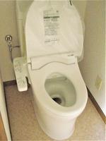 トイレ:新しく交換しました